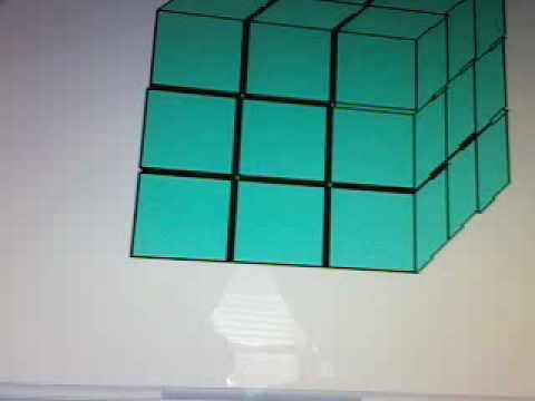 Watch rubiks cube ms paint makeing