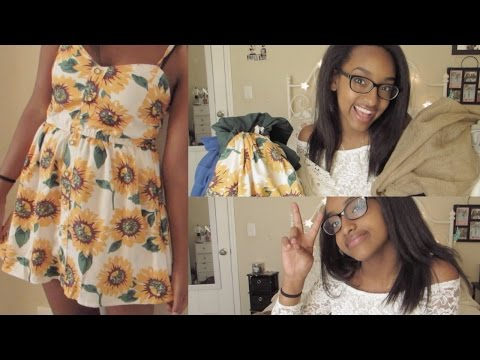 HUGE Back To School TRY-ON Clothing Haul   LoveFromLiyax