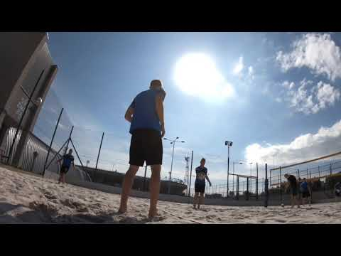 Trénink A mužstva na beachových kurtech (18.6.2019)