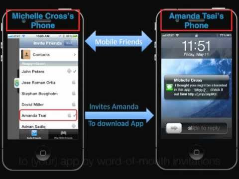 Viral User Growth For Mobile Apps & Games - App Growth Engine (AGE) Demo