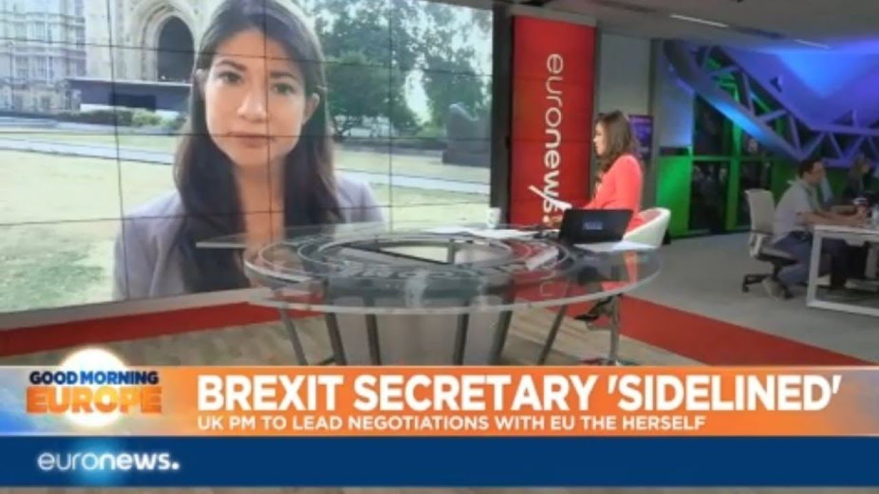 Brexit Secretary Sidelined: Prime Minister Theresa May to lead negotiations with the EU herself