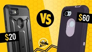 Best Rugged Cases for PIXEL 3a XL? Supcase Unicorn Beetle vs. Otterbox Defender Series
