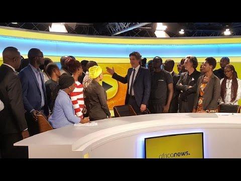 Africanews prend l'antenne