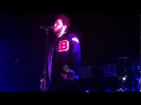 The Weeknd - Trust Issues (Live) - Boston, MA - April 27, 2012