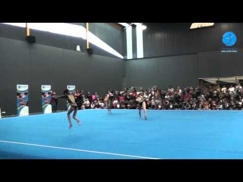 GymNSW ACRO Display - Shanghai Institute of Sport (Snr Women's Trio)