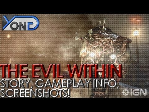 The Evil Within - Story, Gameplay Details, SCREENSHOTS!