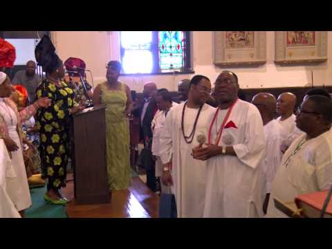 Nigerian Catholic Community: St Katharine Drexel Parish Father's day 2014