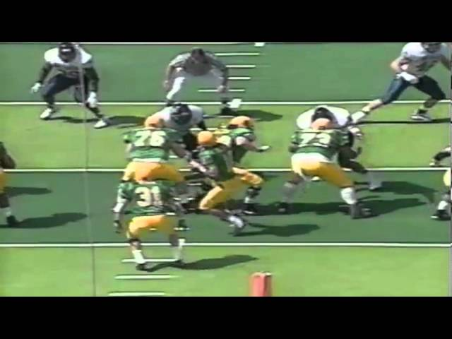 Oregon WR Jibri Hodge 17 yard catch vs. Nevada 9-07-1996