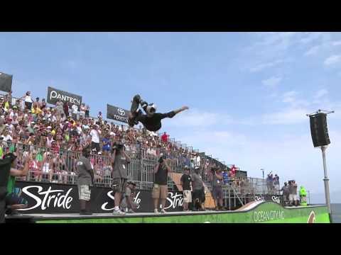 Sandro Dias' 3rd Place Run - Skate Vert Finals Dew Tour Ocean City