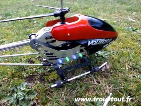 Hélicoptère Volitation 9053-G RC - Gyroscope - 70cm