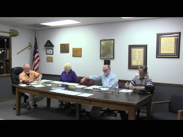 Lakeview Town Council Regular Session 6-10-2014