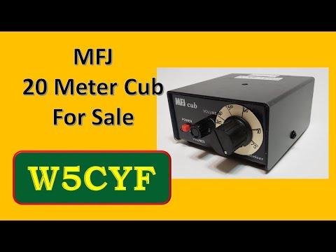 For Sale:  MFJ 20 Meter Cub CW Transceiver
