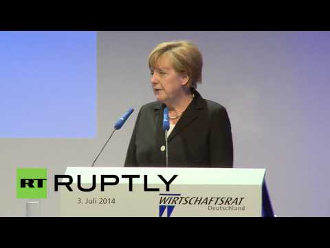 Germany: Merkel touts Transatlantic Trade Partnership in Berlin