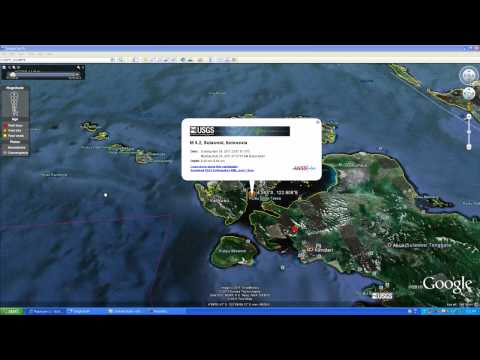 Earthquake Update 6.2 SULAWESI, INDONESIA 2011