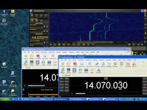How to synchronize PERSEUS SDR and IC706mkiig in Ham Radio Deluxe