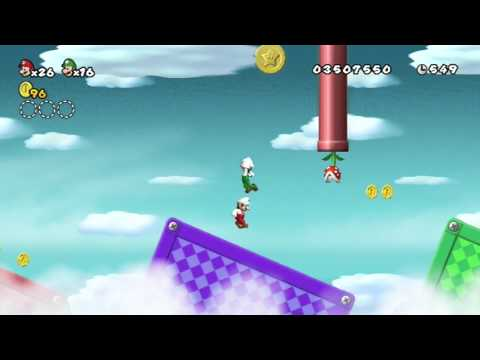 New Super Mario Bros Wii - Part 13 - 6-Airship & 7-1