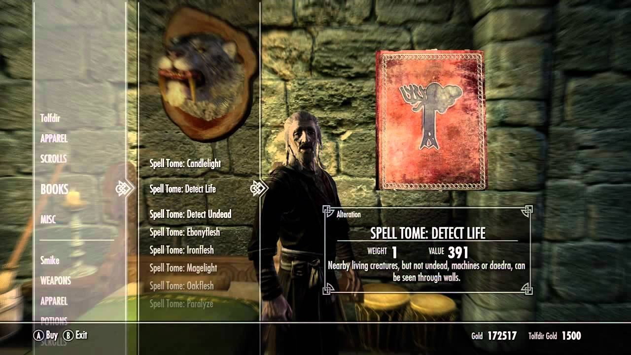 How do you learn new spells? - The Elder Scrolls IV: Oblivion