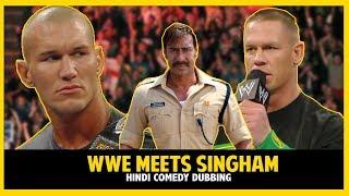 WWE Funny Dubbing | WWE Meets Bollywood | WWE Singham Ft. John Cena, Randy Orton | Anmol Sachar Dubs