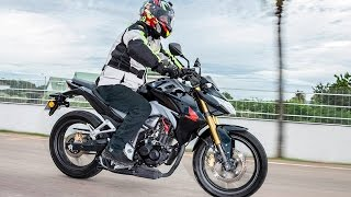 Test Drive con la Honda CB 190R / PubliMotos TV
