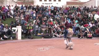 Tony Duncan at the 2013 Heard Museum World Championship Hoop Dance Contest