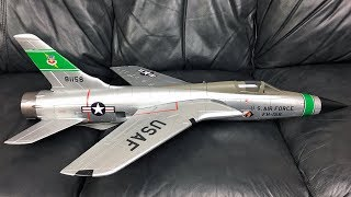 Unboxing Only - Freewing F-105 Thunderchief 64mm EDF Jet RC Plane