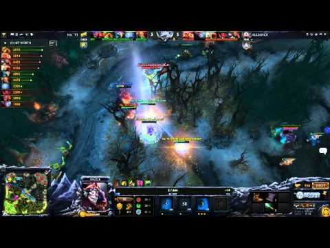 Navi vs Alliance - Game 2 (Dota 2 Asia Championships - Europe Qualifier) - Zyori & Merlini