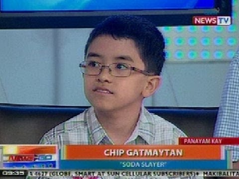 NTG: Chip Gatmaytan, naging inspirasyon para maihain ang 'Healthy Beverage Options Act 2011'