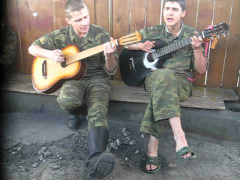 Военные, армейские песни - Этот теплый летний вечер