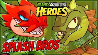 CONCEDE with SPLASH DRAGONS - Plants vs Zombies Heroes Gameplay