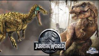 Will Rexy Kill The Baryonyx?   Jurassic World Fallen Kingdom - Dino battle