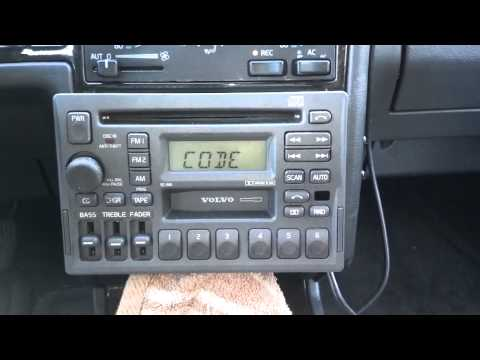 How to remove and install a Volvo SC series radio in a 850 ...