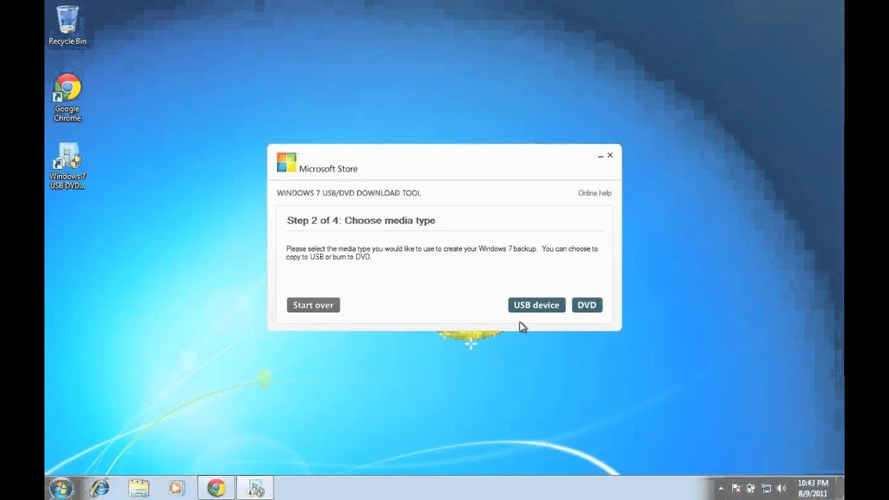 how to create a bootable windows 7 urecovery usb