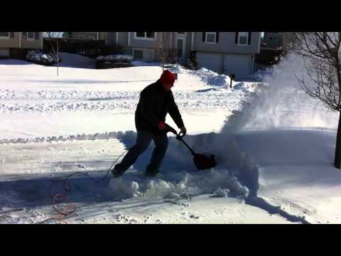Patrick vs The Snow - Toro Power Shovel Electric SnowBlower