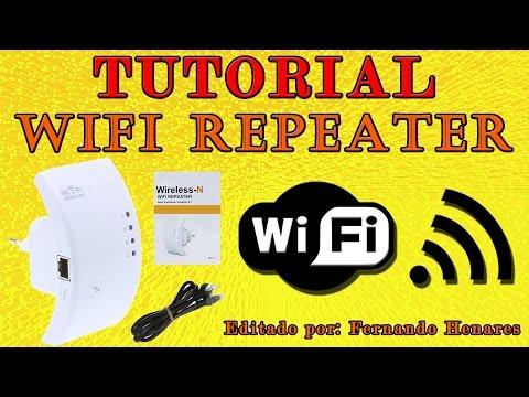 Tutorial cómo configurar Repetidor Wifi