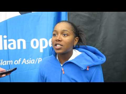 Victoria Duval: 2013 USTA Australian Open Wild Card Playoffs (RAW)