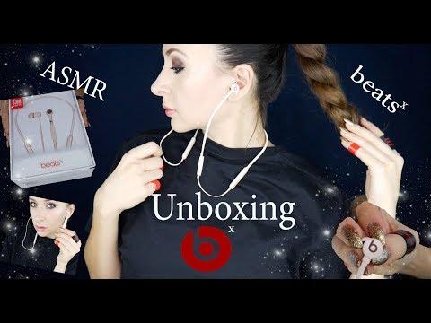 Unboxing Beats X Wireless *ASMR no talking