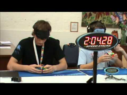 4x4 Rubik's cube blindfolded former world record: 3:37.80