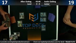 Modern League w/ Commentary 10/9/18 - Allen Guttag (Jund) vs. Justin Gebing (Jeskai)