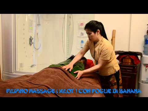Filipino Massage ( Hilot ) con Foglie di Banana