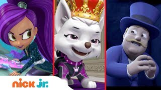 'Nick Jr. Villains' 🎩🎶 Music Mash-Up w/ PAW Patrol, Shimmer and Shine, Blaze, Bubble Guppies & More!