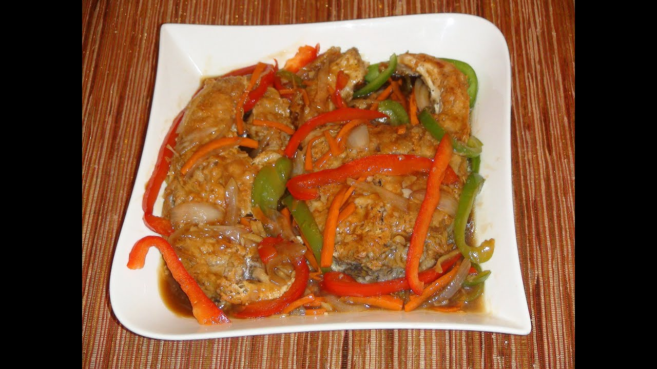 Pinoy recipe escabeche most delicious fish recipe in for Fish recipe panlasang pinoy
