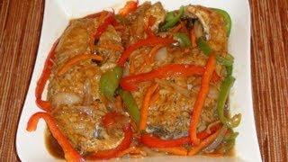 PINOY RECIPE - [ESCABECHE] MOST DELICIOUS FISH RECIPE IN THE WORLD