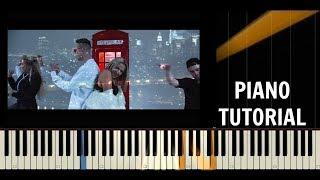 Dominika Mirgová ft. ADiss - NOC PATRÍ NÁM - Piano Cover / Tutorial - Synthesia