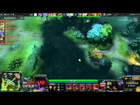 iCCup vs SMG - joinDOTA Open - TobiWan