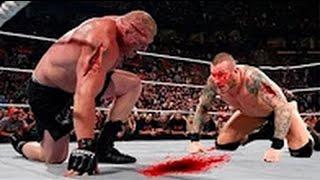 مباراة جنونية #11 | بروك ليسنر ضد راندي اورتن - كاملة