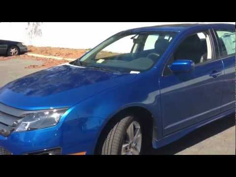 2012 Ford Fusion Sport Review. Walk Around. Sta