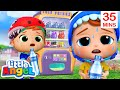 No, No Sugary Drinks! | Little Angel Kids Songs & Nursery Rhymes