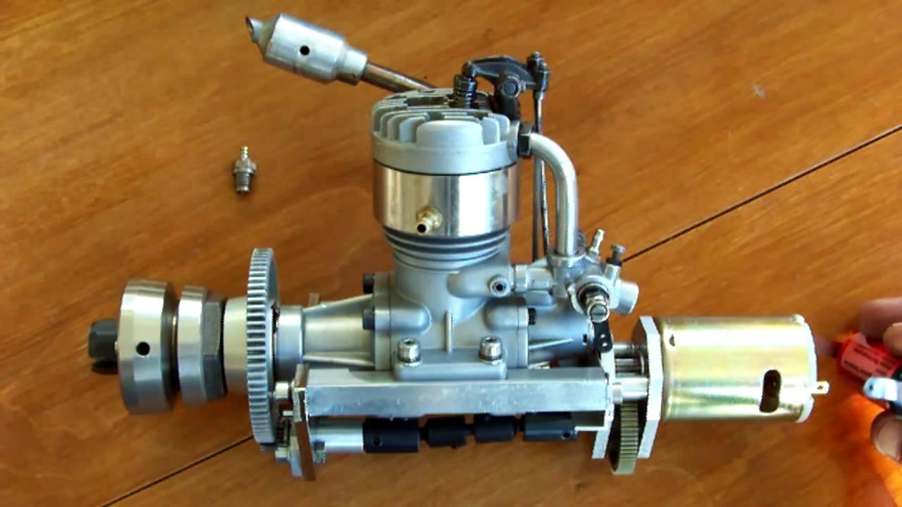4 Stroke Model Engine Os Fs 60 Rc Marine Onboard Starter