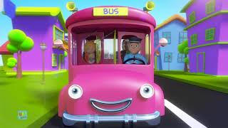 Wheels On The Bus Go Round And Round   Nursery Rhymes & Baby Songs