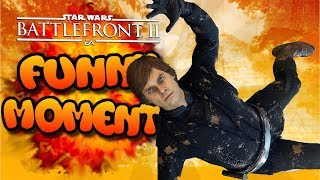 Star Wars Battlefront 2 Funny Moments Montage [FUNTAGE] #15 - Corpse Launches